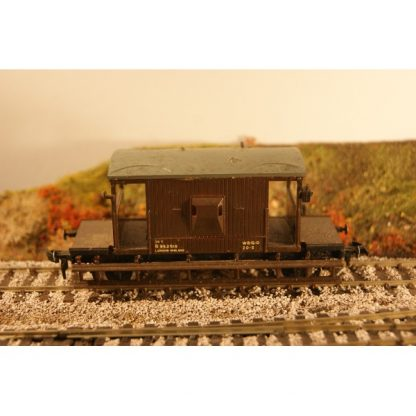 LMS Brake Van Brown